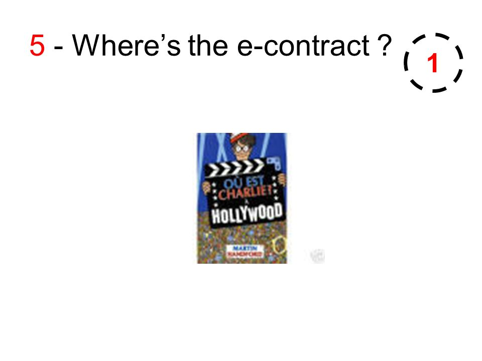 5 - Wheres the e-contract 1