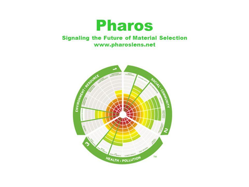 Pharos Signaling the Future of Material Selection www.pharoslens.net