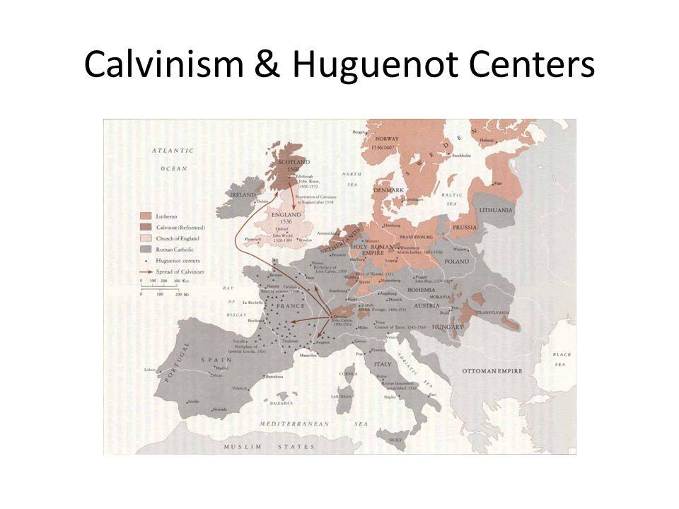 Calvinism & Huguenot Centers