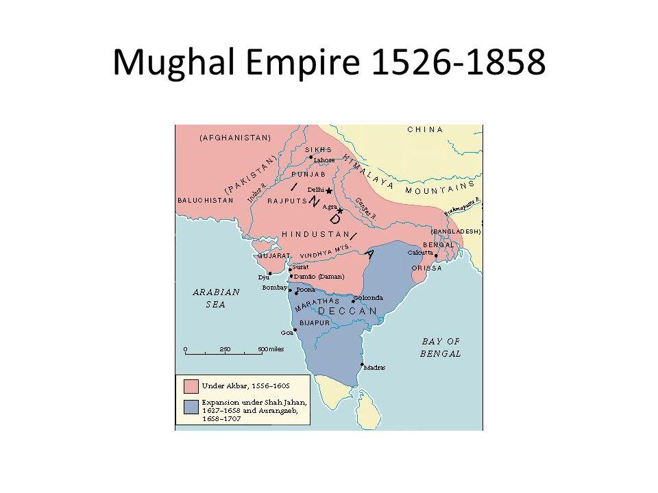 Mughal Empire 1526-1858