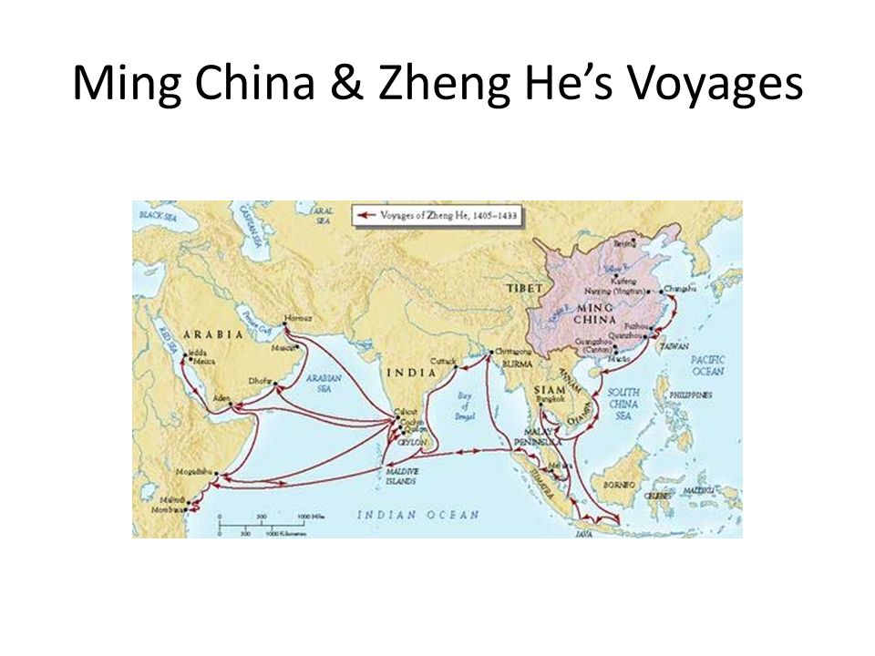 Ming China & Zheng Hes Voyages