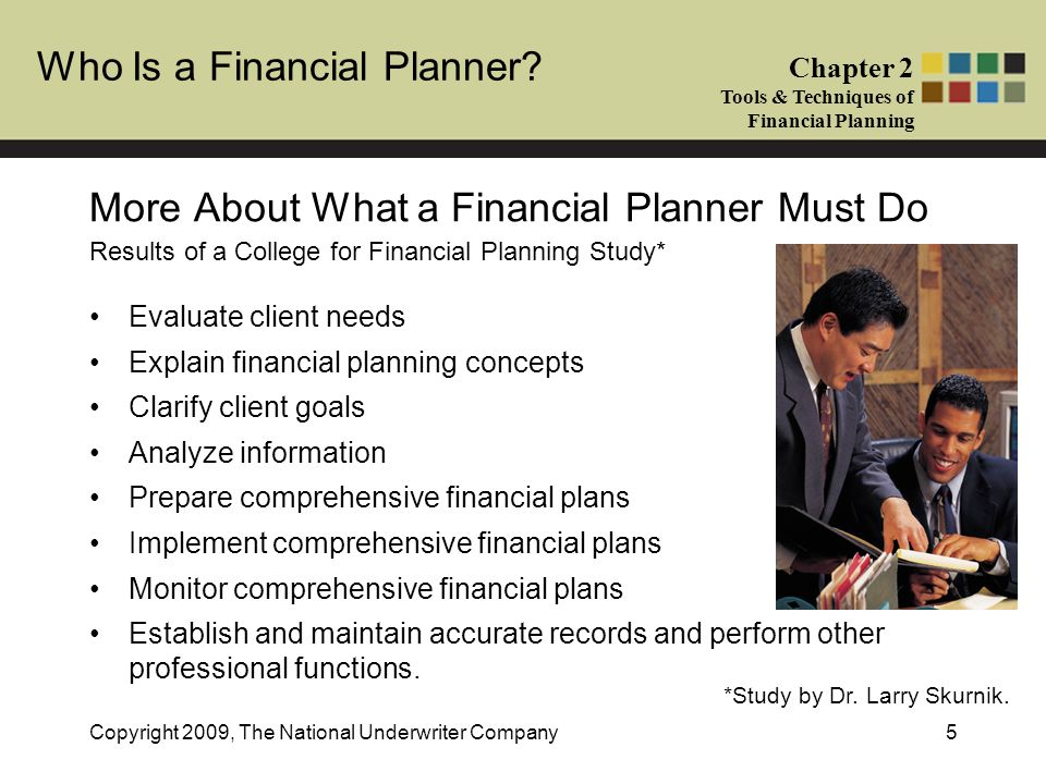 Who Is a Financial Planner.