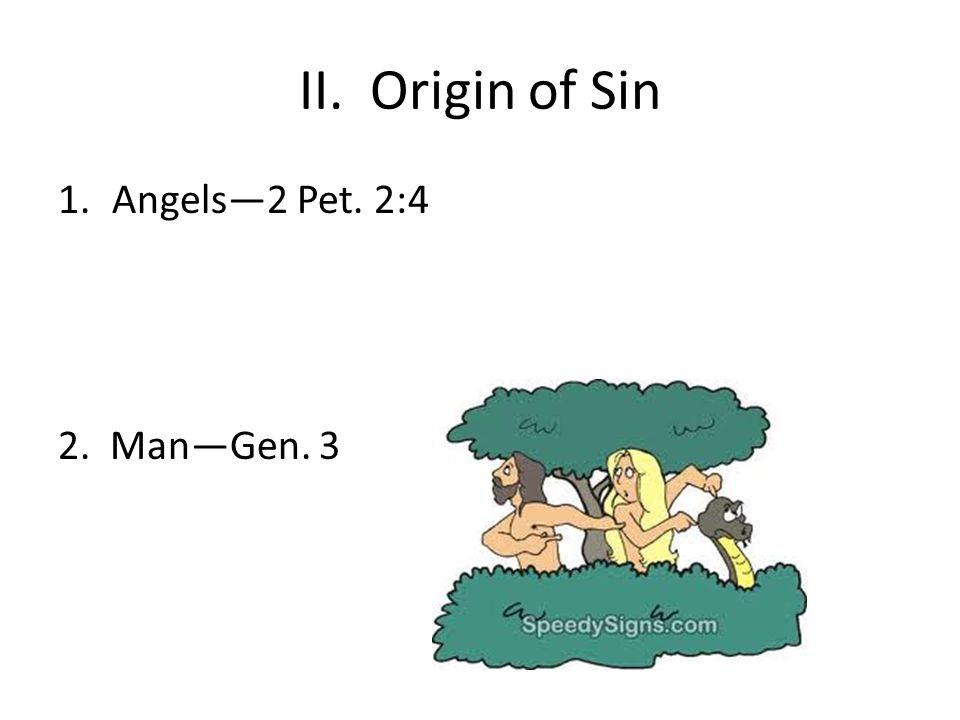 III.Inherited sin 1.Federal headshipAdam was our representative (we sinned in him)Rom.