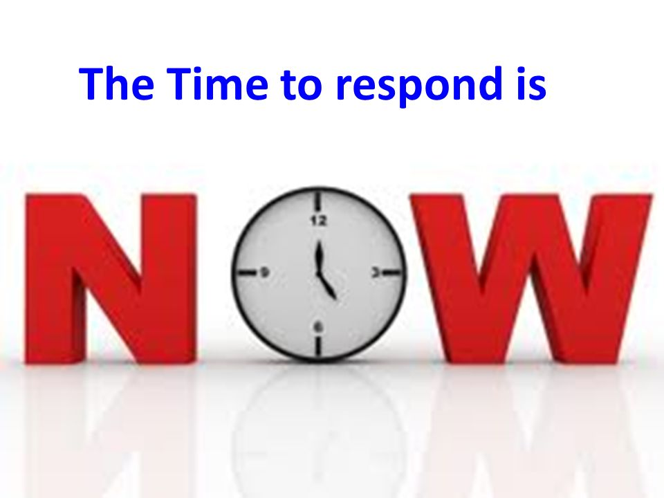 37 The Time to respond is