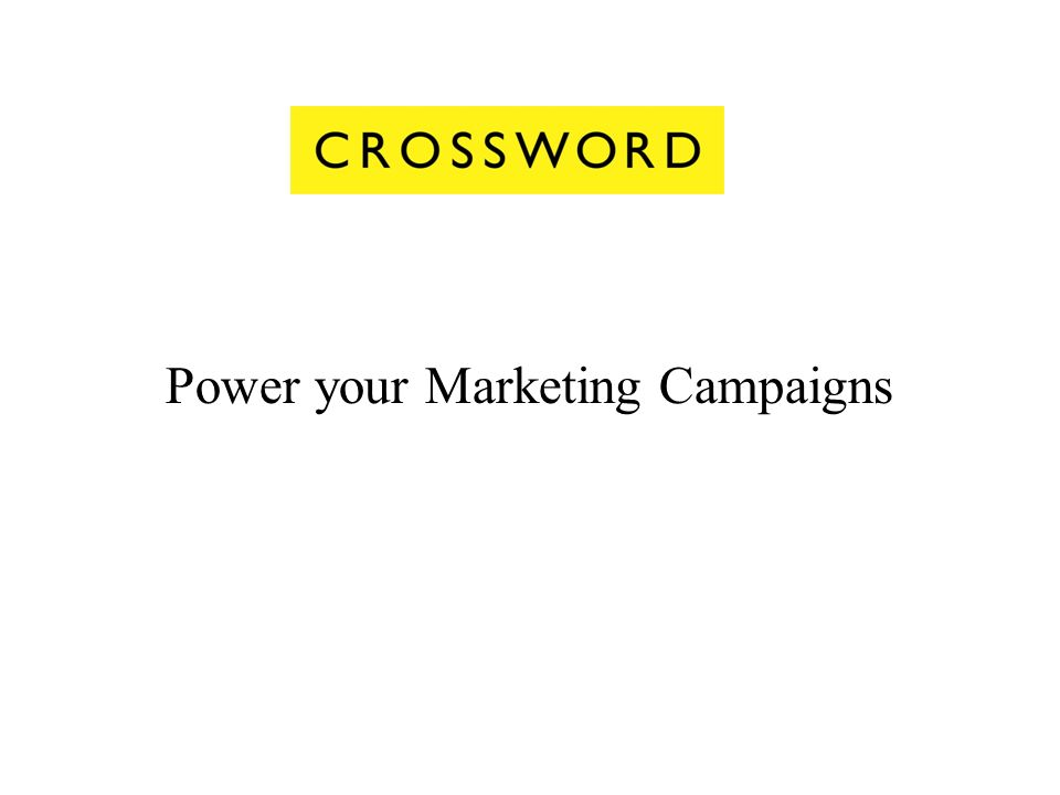 Power your Marketing Campaigns
