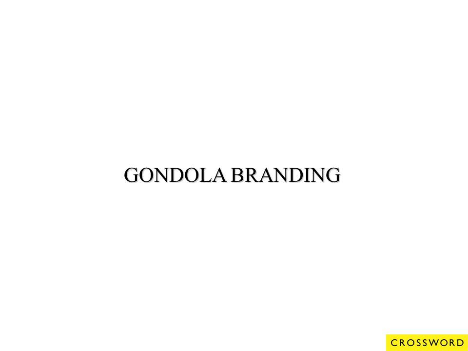 GONDOLA BRANDING