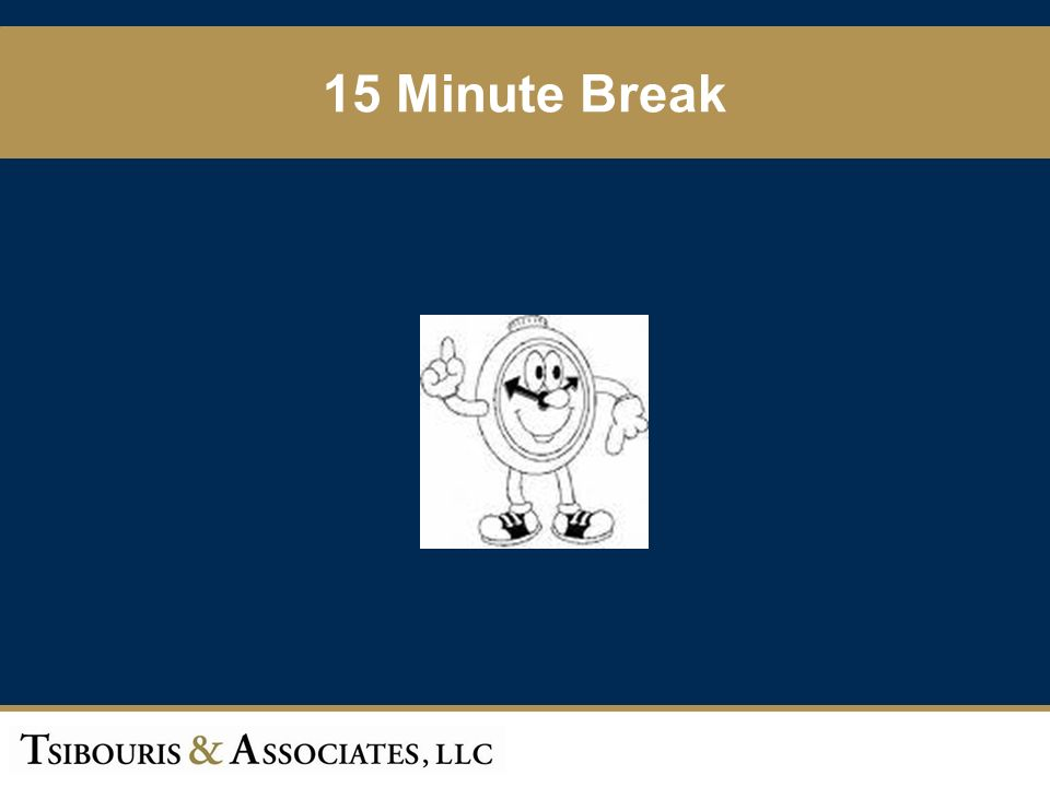 53 15 Minute Break