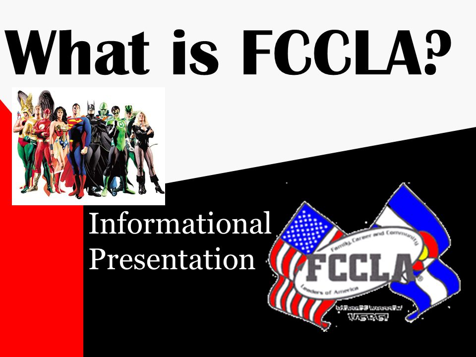 What is FCCLA? Informational Presentation