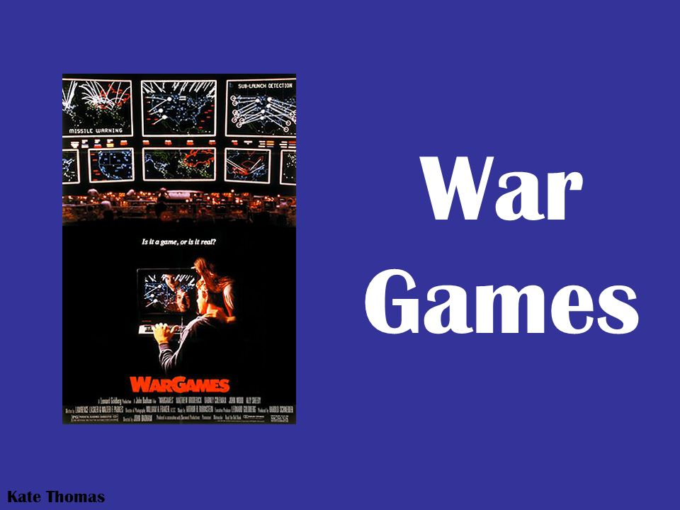 War Games Kate Thomas