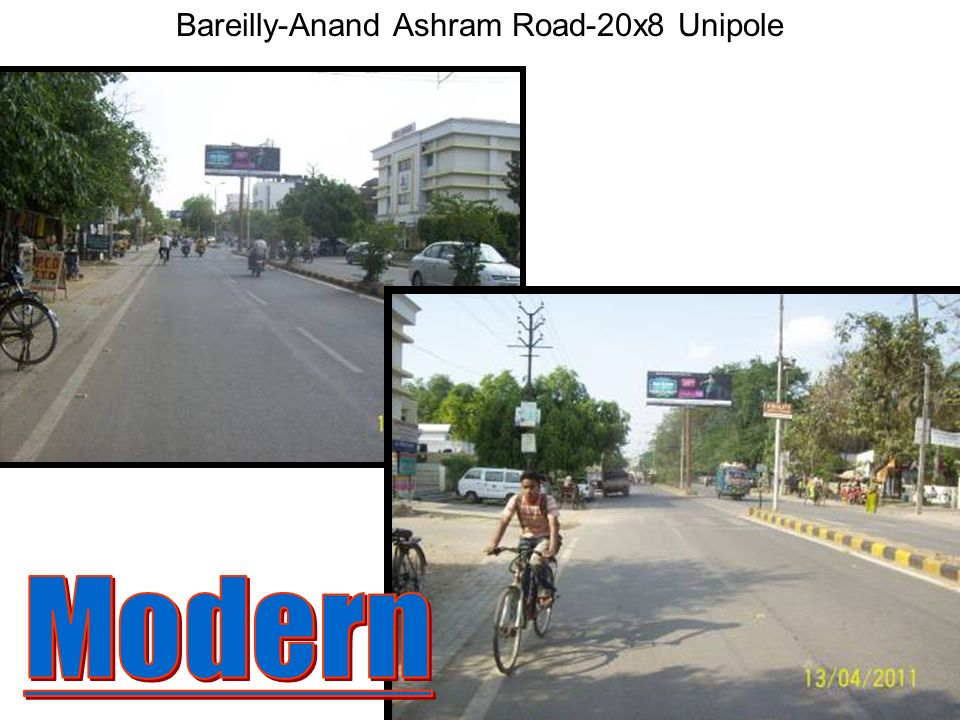 Bareilly-Station Road-20x8 Unipole