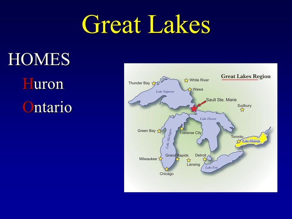 Great Lakes HOMES Huron Ontario