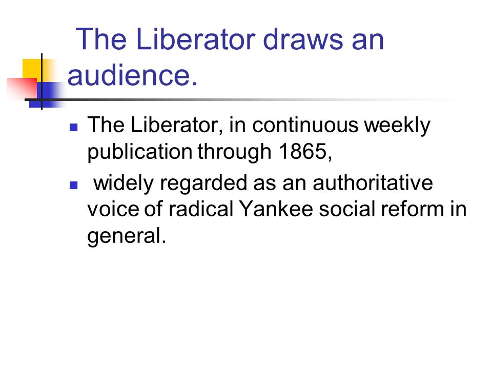 The Liberator draws an audience.