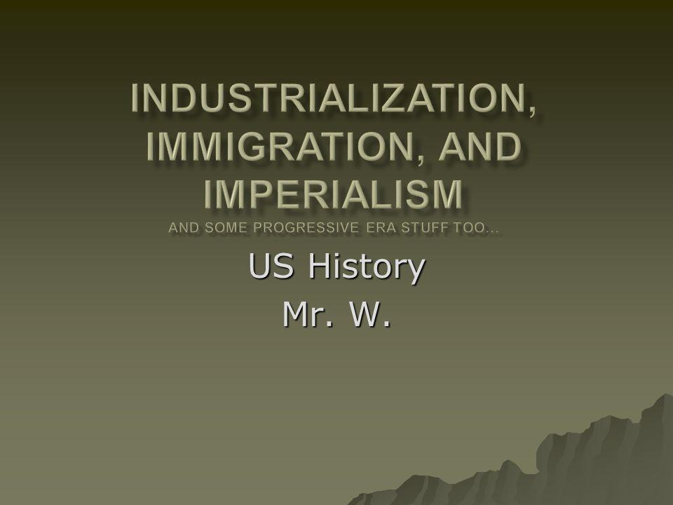 US History Mr. W.
