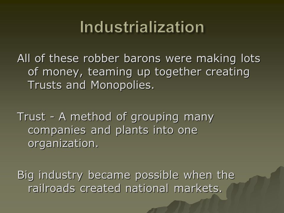 voices of freedom journal industrialization essay