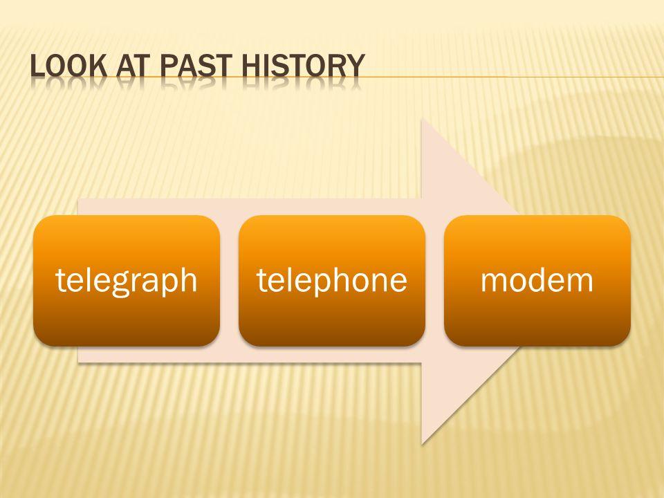 telegraphtelephonemodem