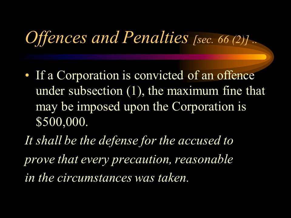 Offences and Penalties [sec.66 (1)].
