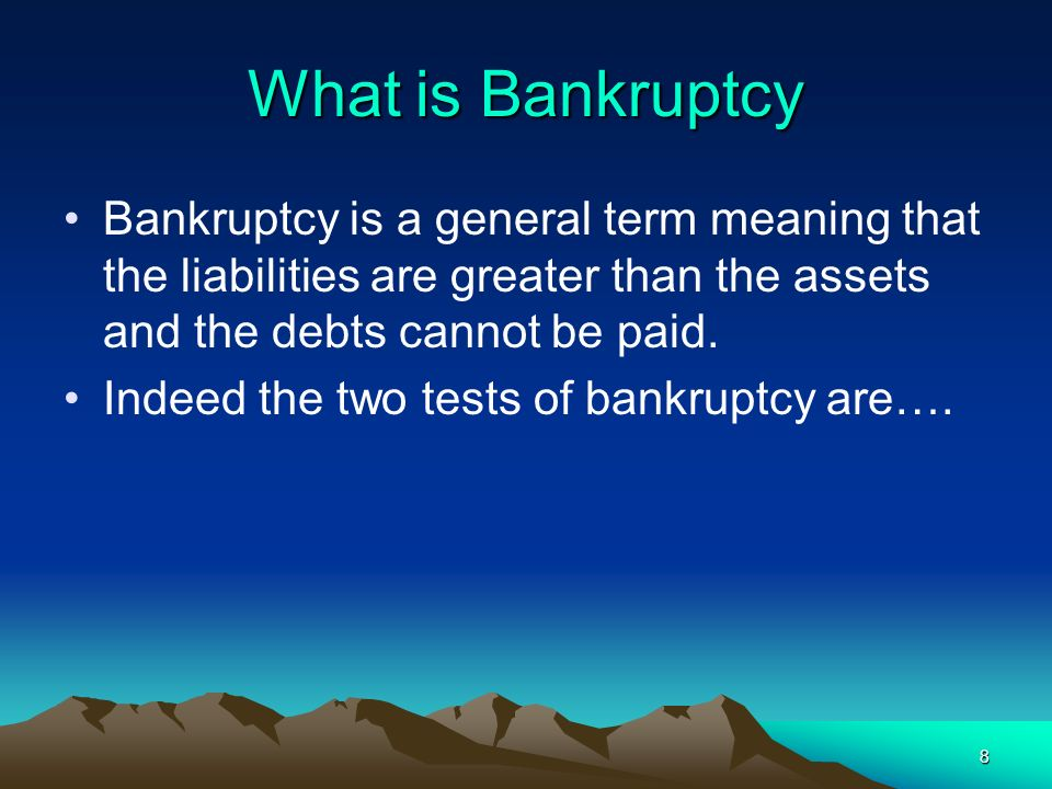 19 Length of Personal Bankruptcy Most countries discharge the bankrupt within a short period.
