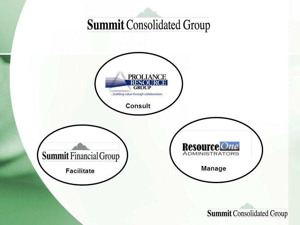 5 Facilitate Manage Consult