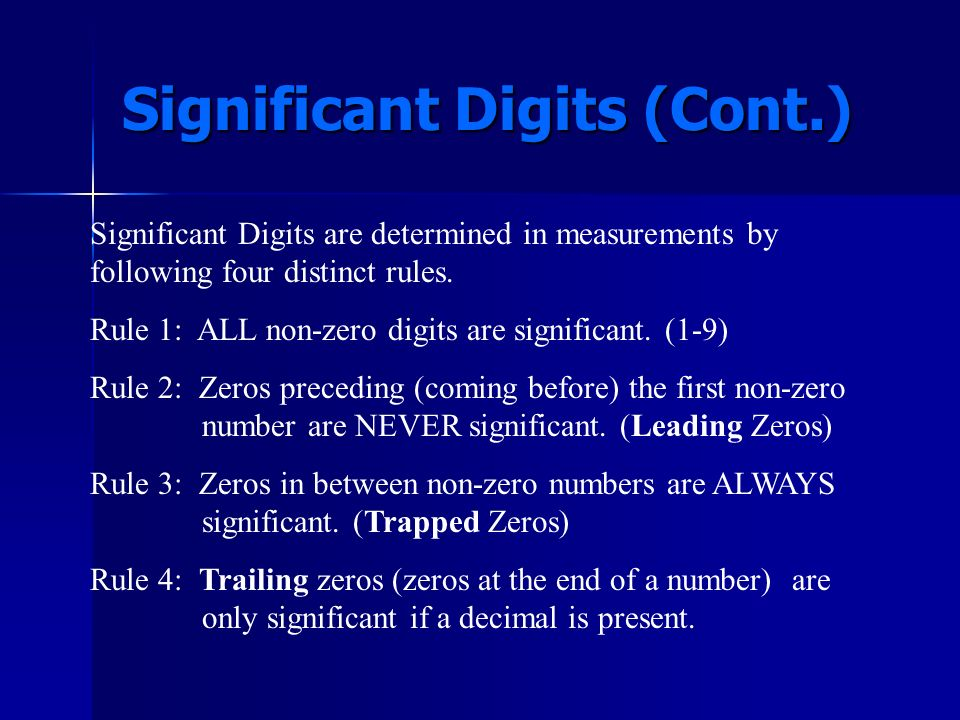 Significant Digits In science numbers are not just numbers they are measurements, and as we have already discovered ALL measurements have some degree