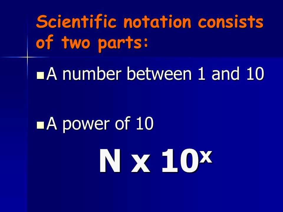 What is Scientific Notation? Scientific notation is a way of expressing really big numbers or really small numbers. Scientific notation is a way of ex
