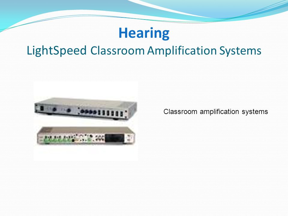 Hearing RedCat Amplification Systems Portable classroom amplification system with no installation required.