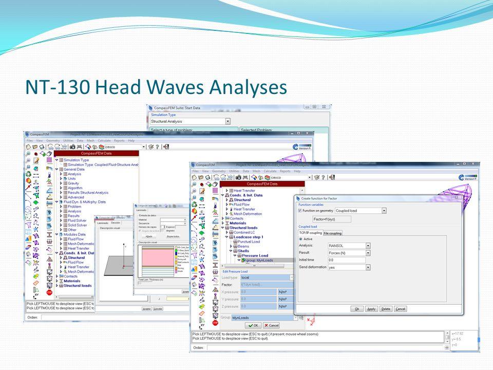 NT-130 Head Waves Analyses
