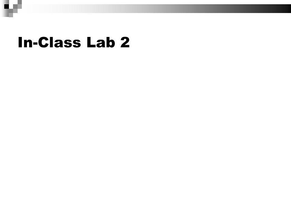 In-Class Lab 2
