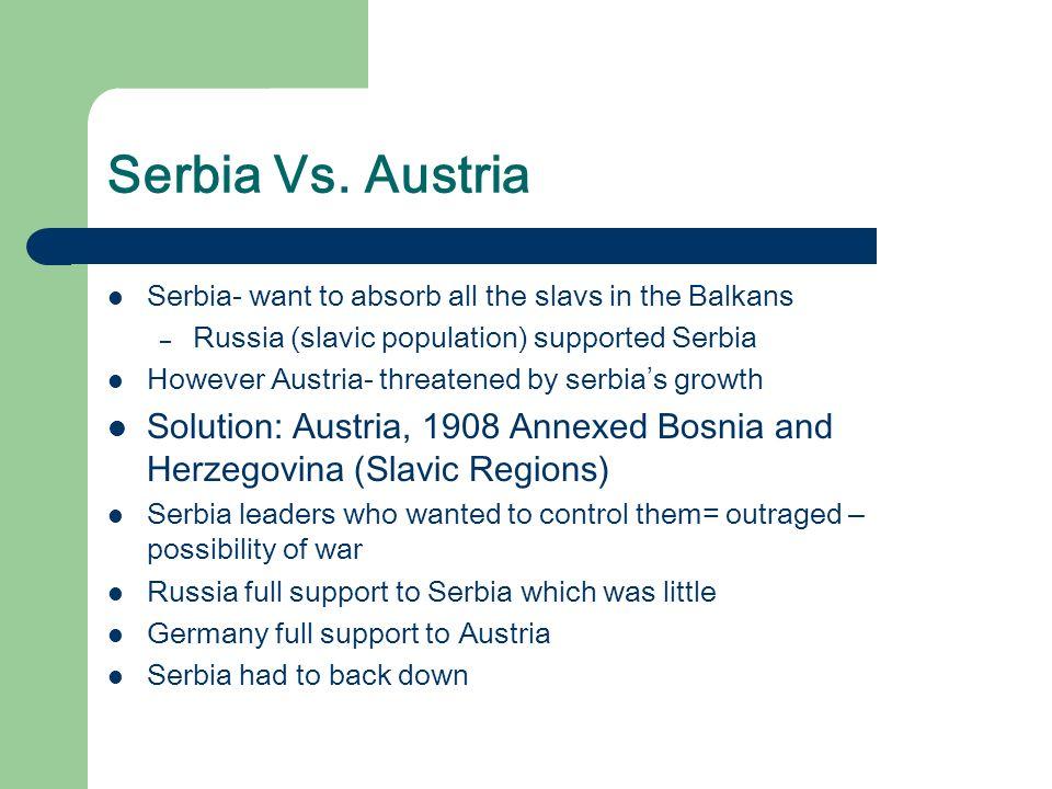 Serbia Vs.