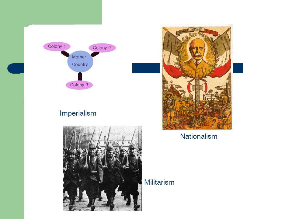 Imperialism Nationalism Militarism