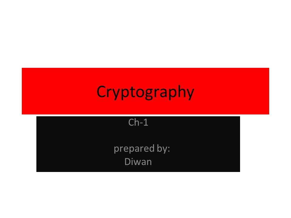 Essential Terms Cryptography Encryption Plain text Cipher text Decryption Cipher text Plain text Cryptanalysis Cryptology Source: http://www.unmuseum.org/enigma.jpg