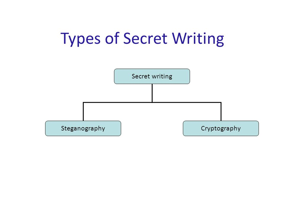 10 Basic Terminologies Steganography is the method of hiding secret messages in an ordinary document Steganography does not use encryption Steganography does not increase file size for hidden messages Example: select the bit patterns in pixel colors to hide the message