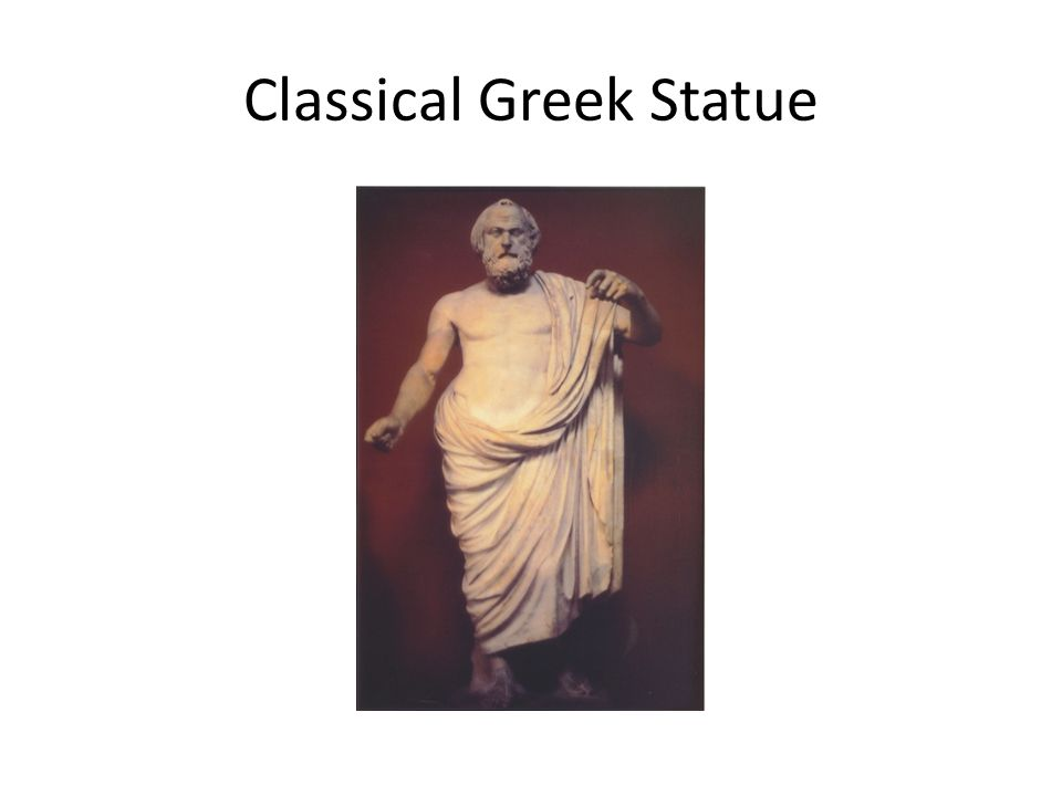 Classical Greek Statue