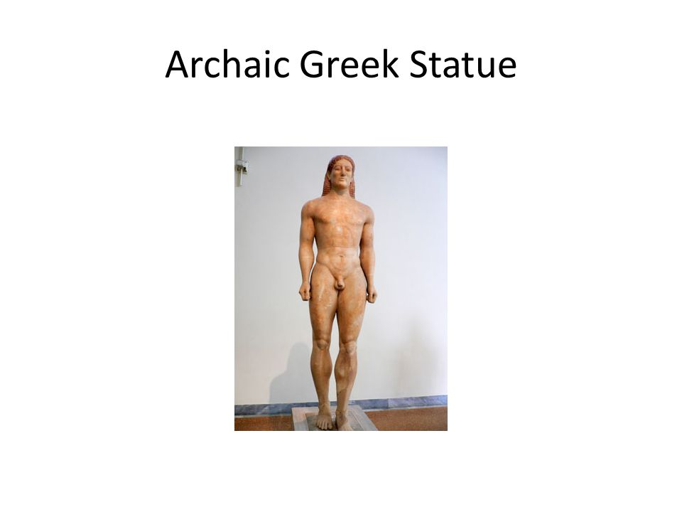 Archaic Greek Statue