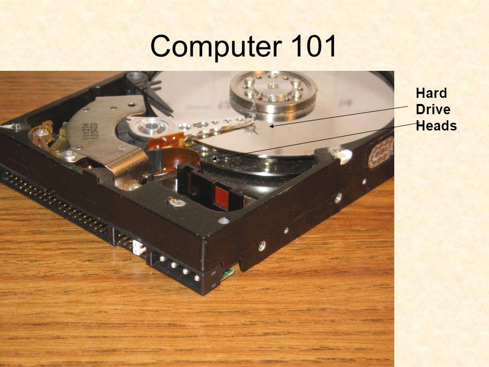 Computer 101 Hard Drive Heads