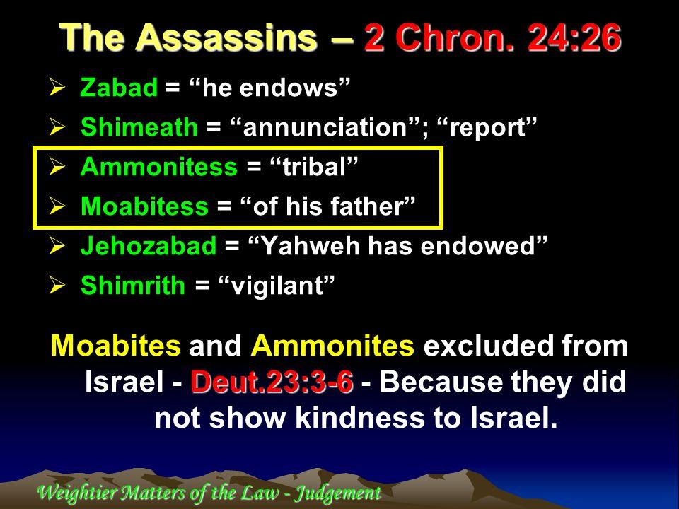 1.Matt.23:34> and Luke 11 reflect on 2 Chron.