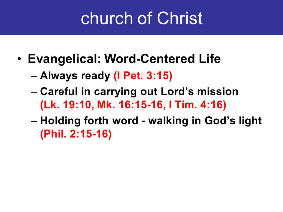One Word = One Church= One Faith= All...