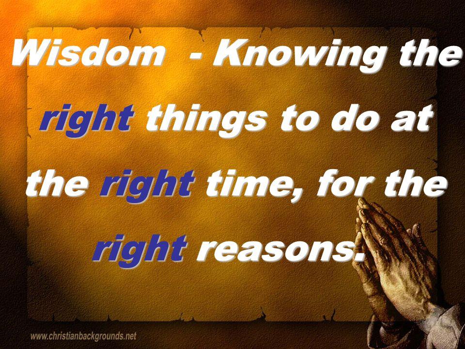 Straight Talk Regarding Wisdom (James 3:13-18)