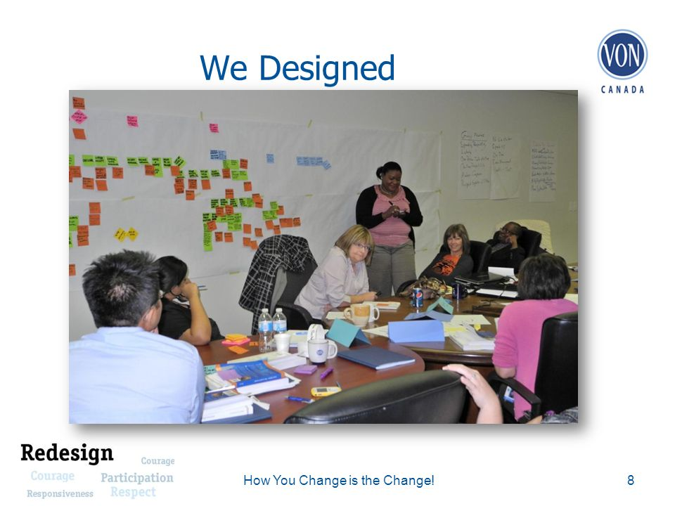 We Designed 8How You Change is the Change!