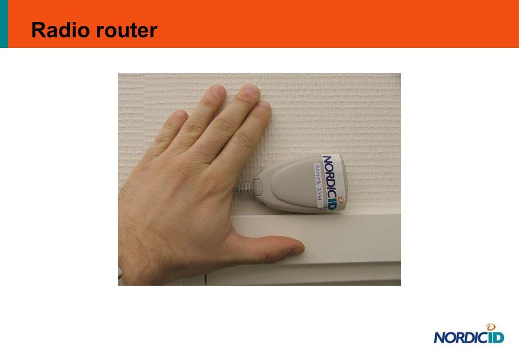 Radio router