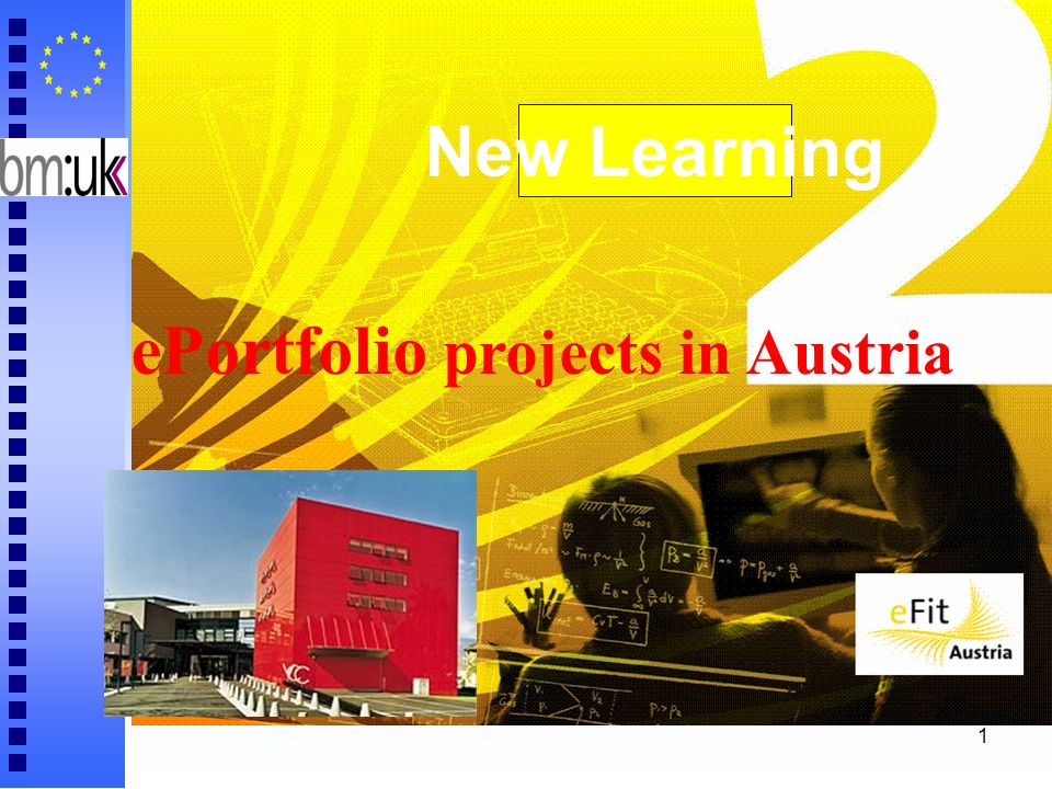 1 ePortfolio projects in Austria New Learning