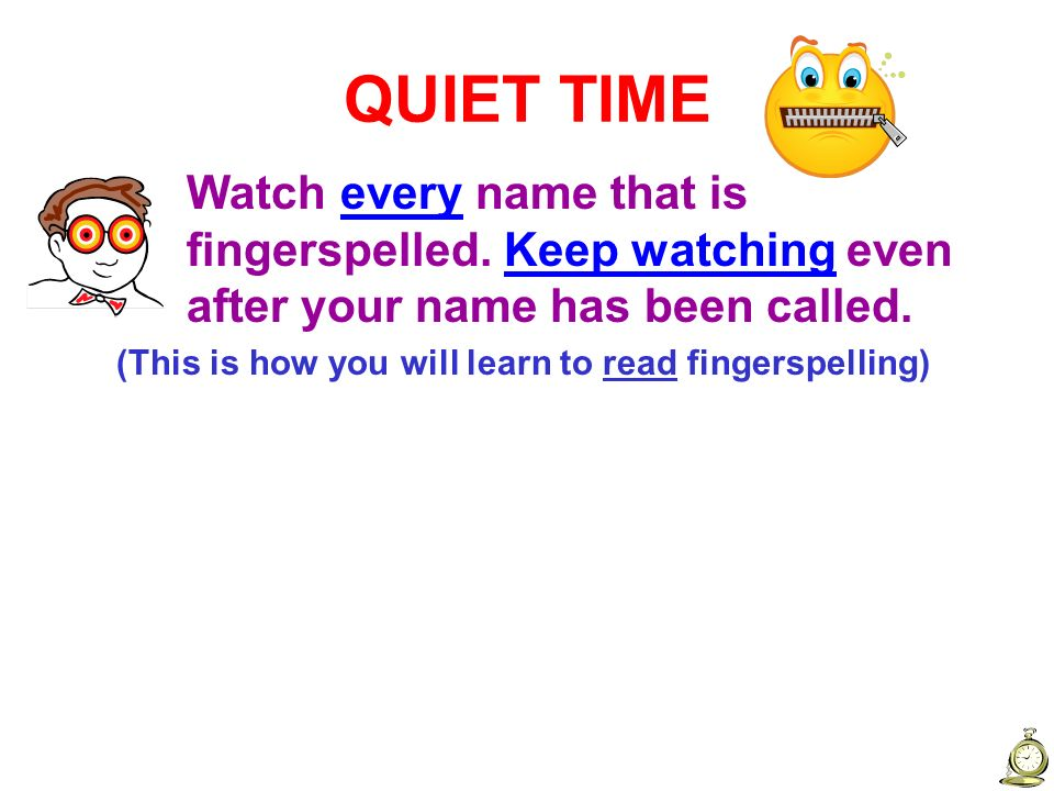 NSN 1:3 Fingerspelling – Fist Letters View.