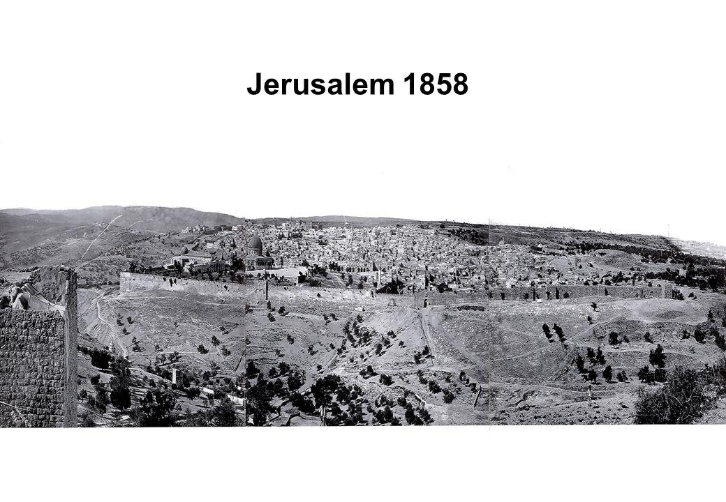 British mandate to permanently (800 square kilometers - Jerusalem, Bethlehem, Lod, Ramle and Jaffa) ...