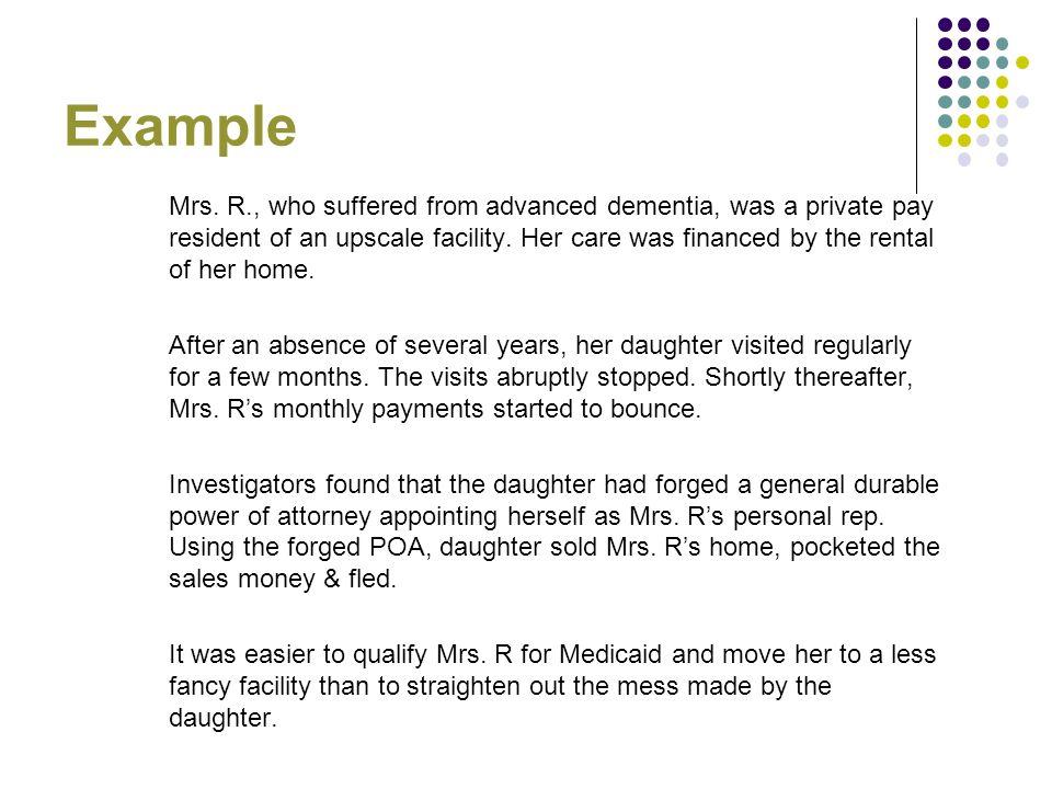 Example Mrs.