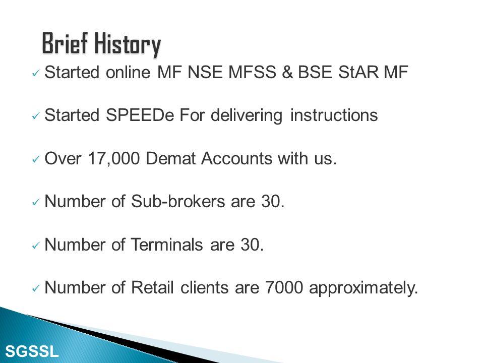 Corporate Member (Deposit Based Member) of Bombay Stock Exchange (BSE), October 2008. Corporate Member of Currency Derivatives Segment of MCX Stock Ex