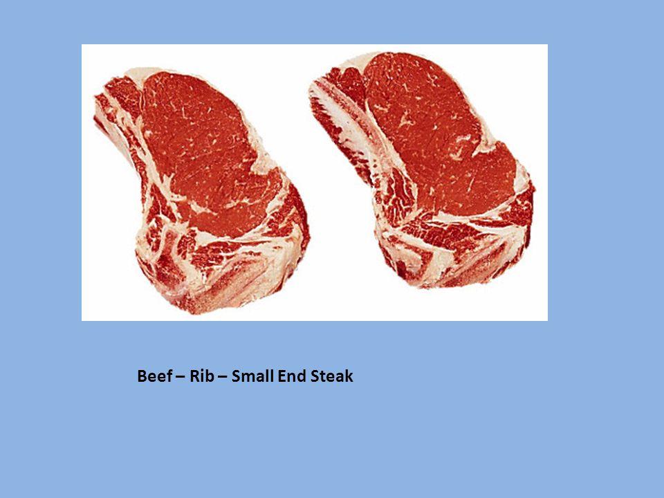 Beef – Rib – Small End Steak