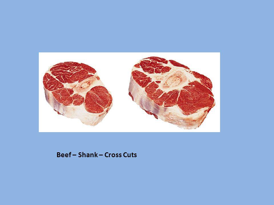 Beef – Shank – Cross Cuts