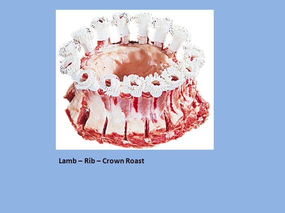 Lamb – Rib – Crown Roast