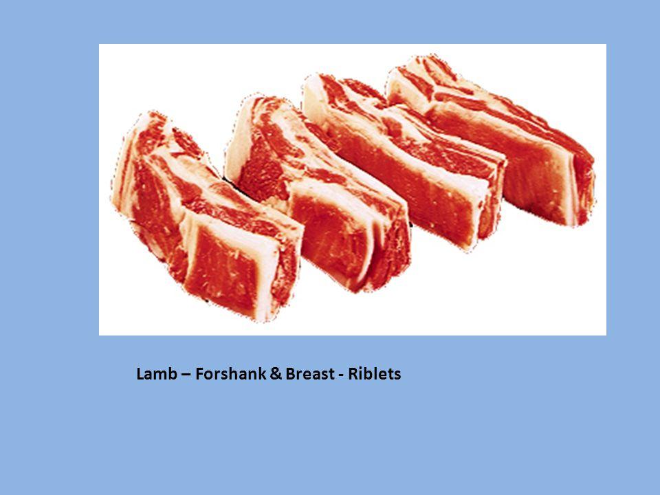 Lamb – Forshank & Breast - Riblets