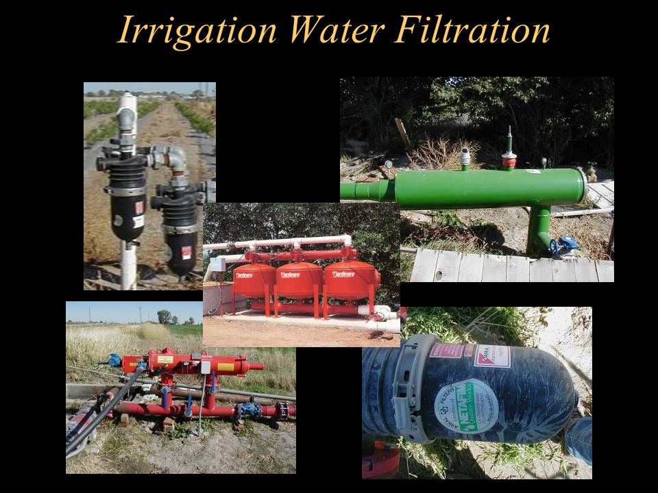 Irrigation Water Filtration