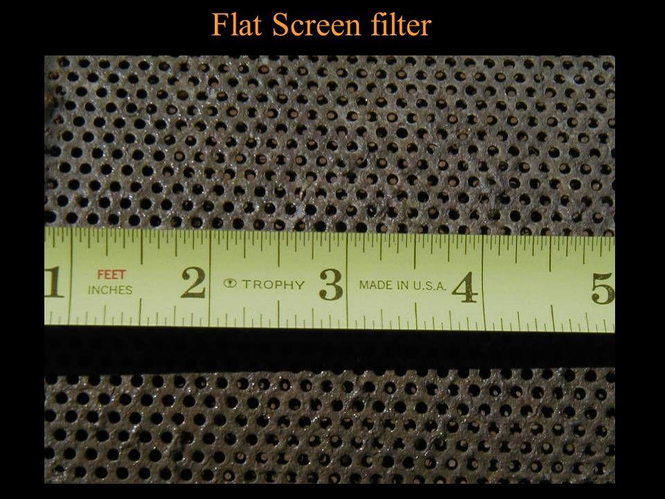 Flat Screen filter